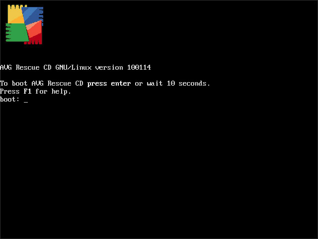 Screenshot 4 of AVG Rescue CD