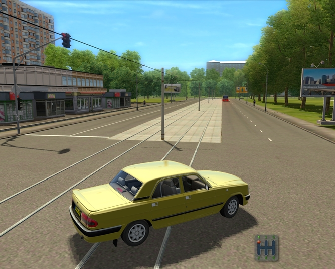 Car city driving скачать