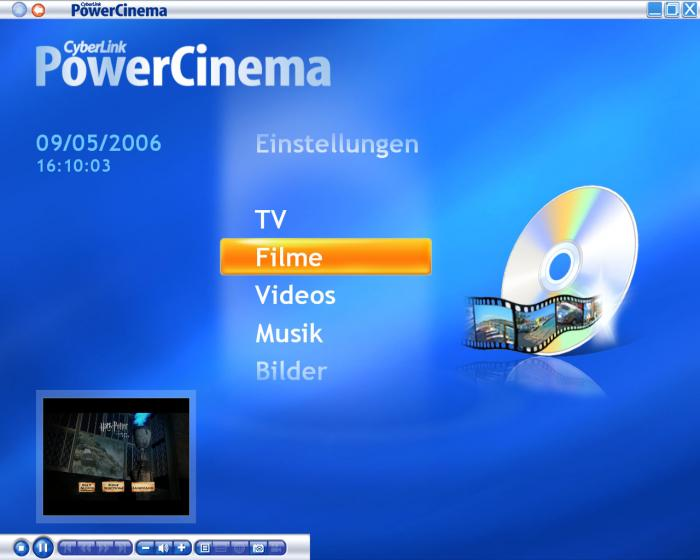 powercinema ne for everio