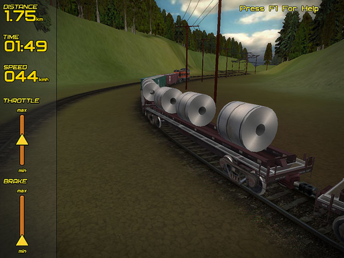 Download Freight Train Simulator free — NetworkIce com