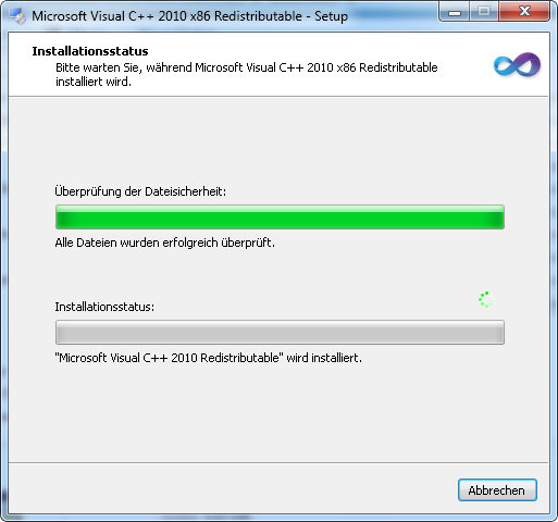 microsoft visual c++ redistributable package 2010