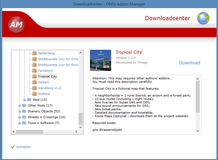 Download OMSI Addon Manager free — NetworkIce com