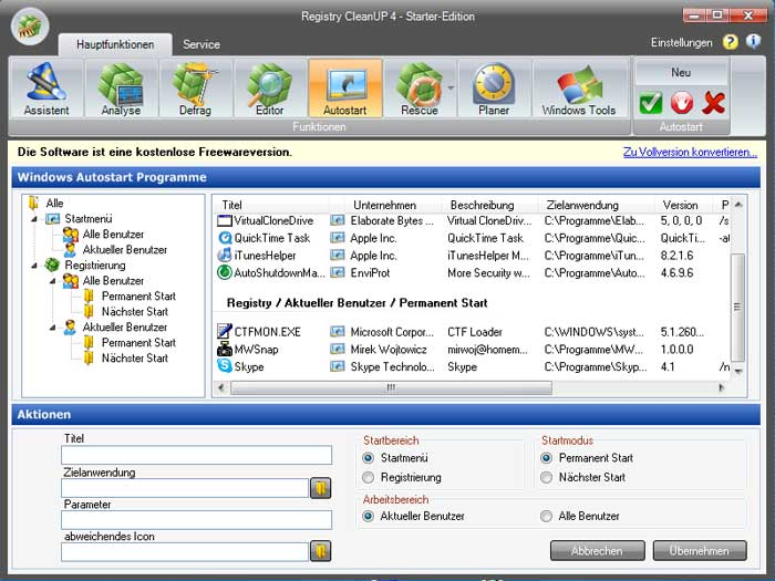 download registry cleanup free