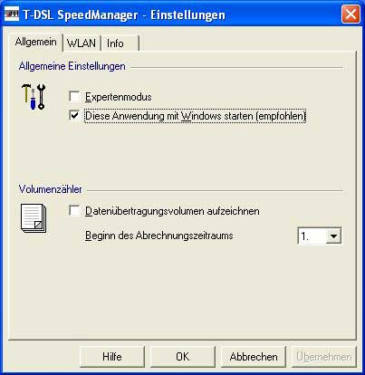 dsl speed optimieren
