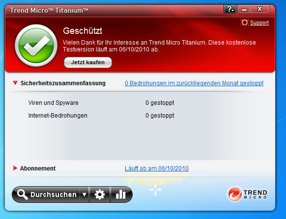 Screenshot 8 of Trend Micro Titanium AntiVirus Plus