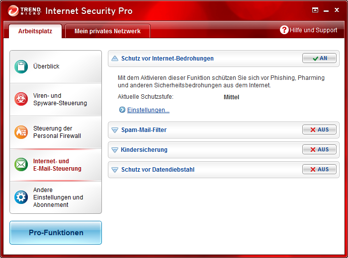 Screenshot 11 of Trend Micro Titanium Maximum Security