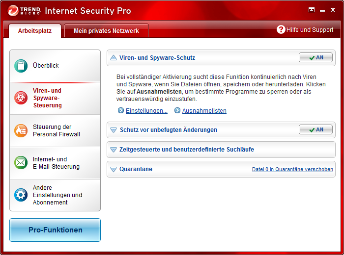Screenshot 5 of Trend Micro Titanium Maximum Security