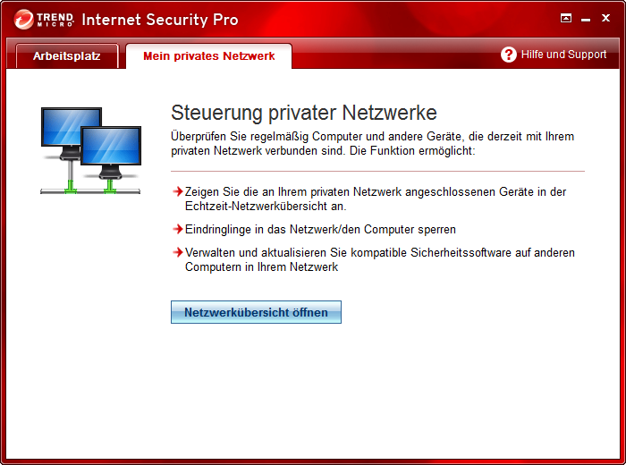 Screenshot 1 of Trend Micro Titanium Maximum Security