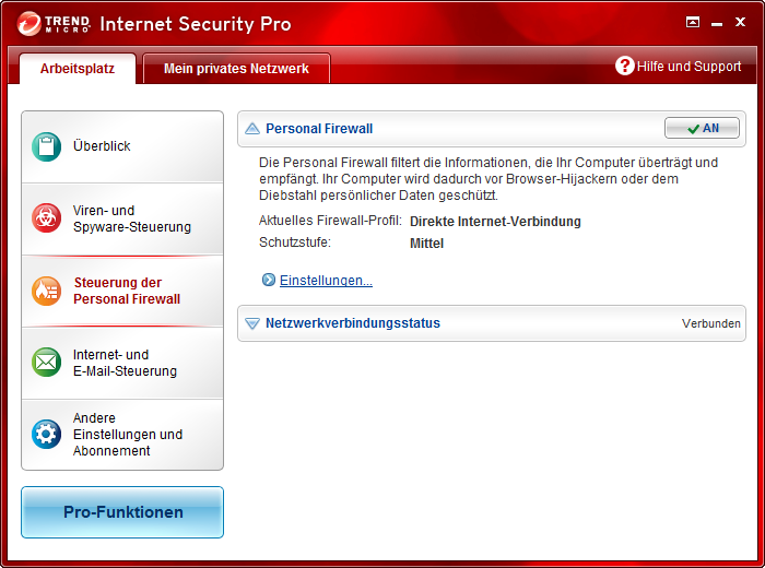 Screenshot 10 of Trend Micro Titanium Maximum Security
