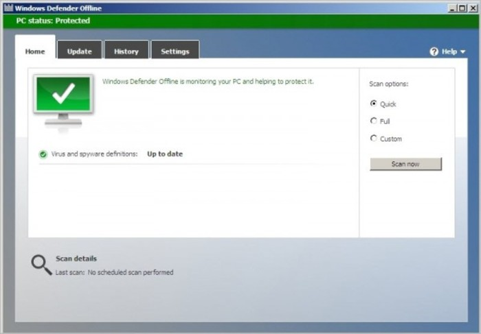 Screenshot 4 of Windows Defender Offline