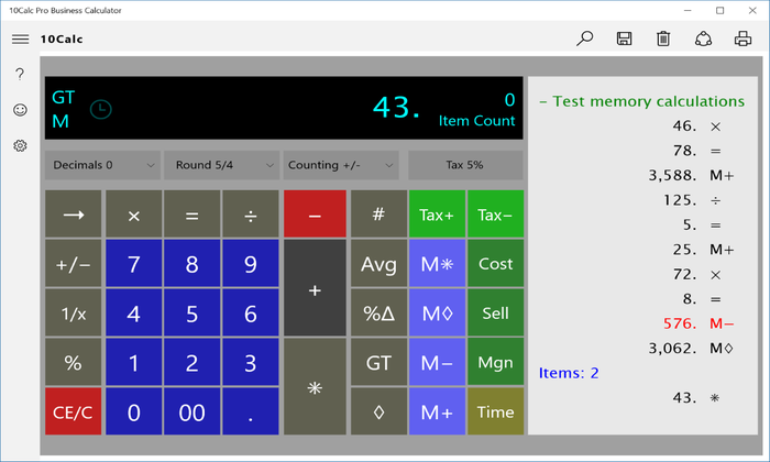 Screenshot 1 of 10Calc business-productivity Calculator