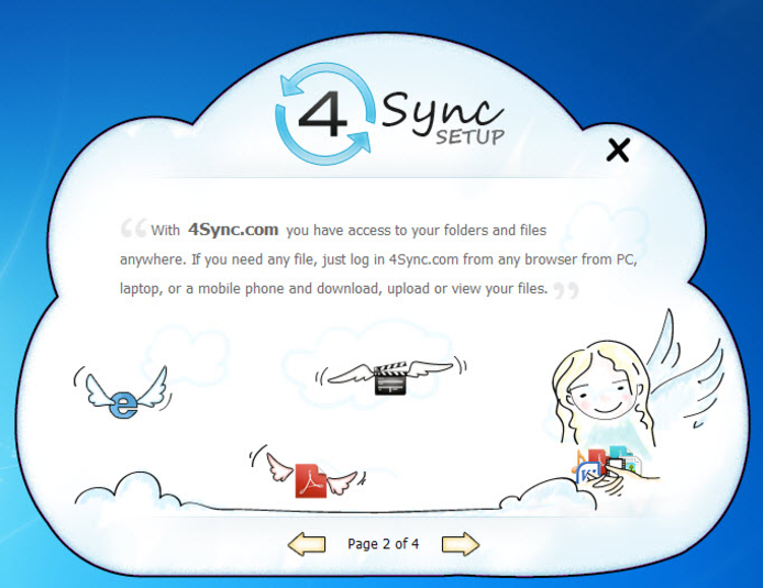Screenshot 1 of 4Sync
