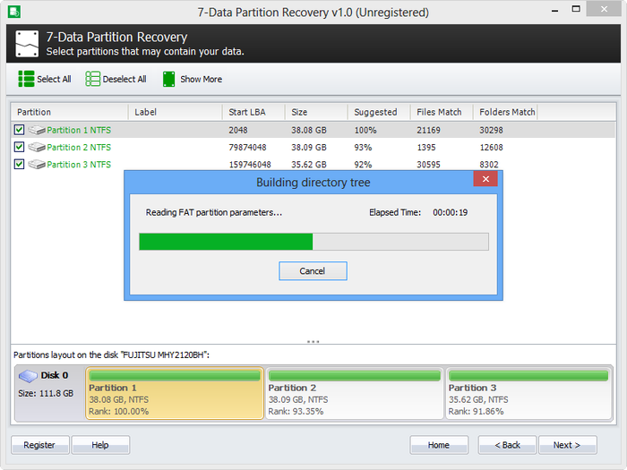 Screenshot 4 of 7-Data Partition Recovery