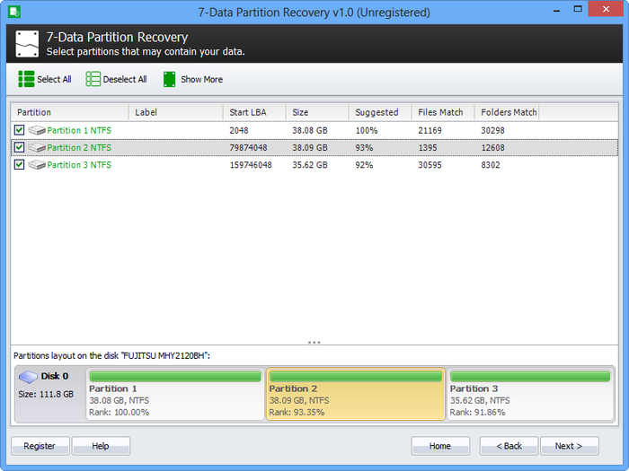 Screenshot 3 of 7-Data Partition Recovery