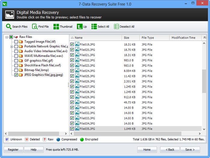Download 7-Data Recovery Suite Free Edition free — NetworkIce.com