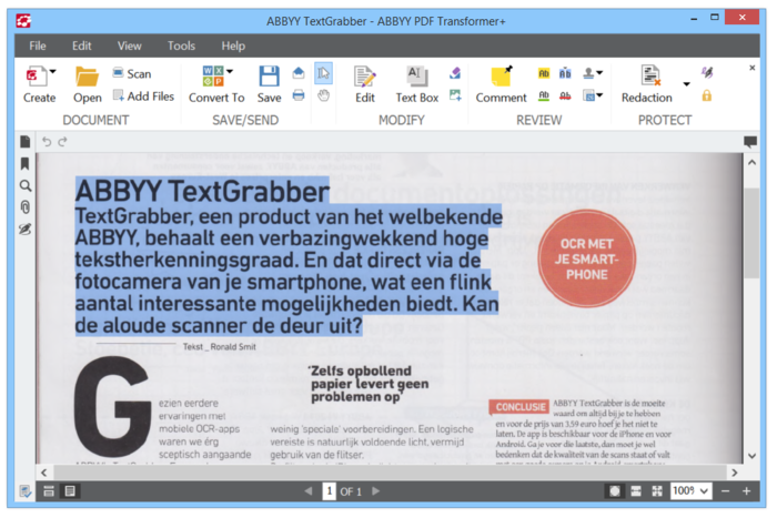 Screenshot 8 of ABBYY PDF Transformer