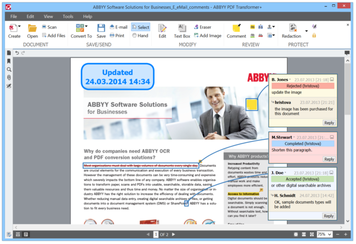 Screenshot 5 of ABBYY PDF Transformer