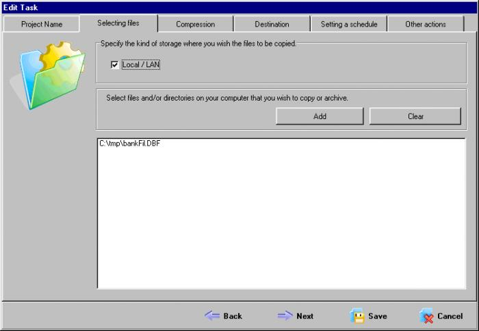 Screenshot 3 of ABC Backup