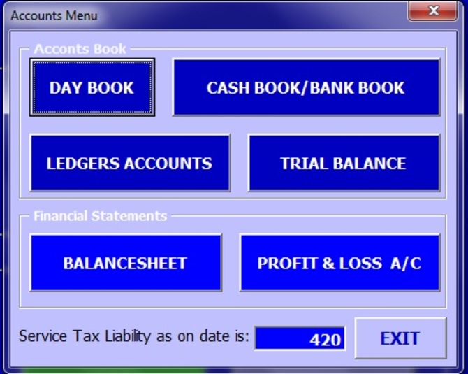 Screenshot 8 of ABCAUS Excel Accounting Template