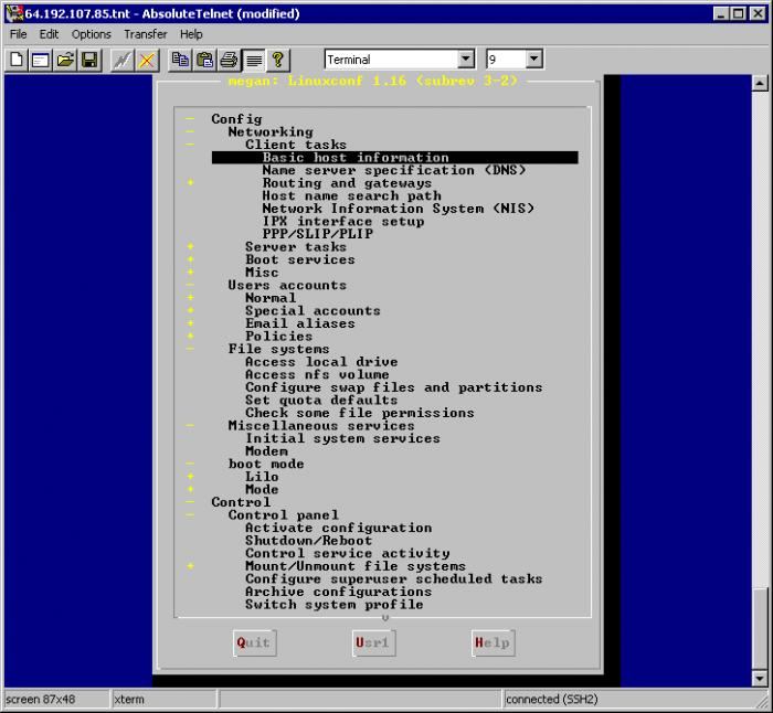Screenshot 5 of AbsoluteTelnet