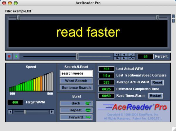 Screenshot 1 of AceReader