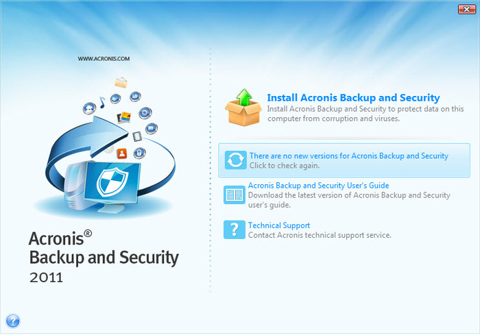 Screenshot 11 of Acronis Backup and Security