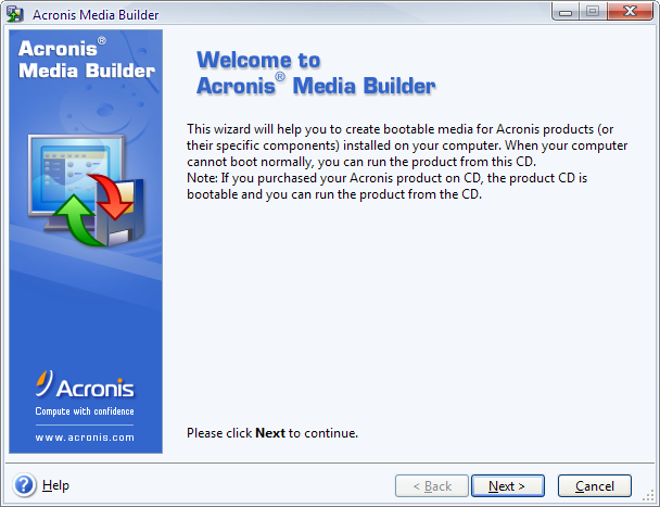 Screenshot 3 of Acronis Migrate Easy