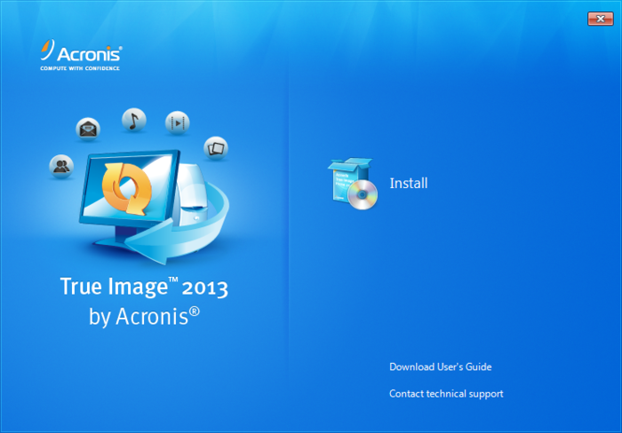 Screenshot 2 of Acronis True Image