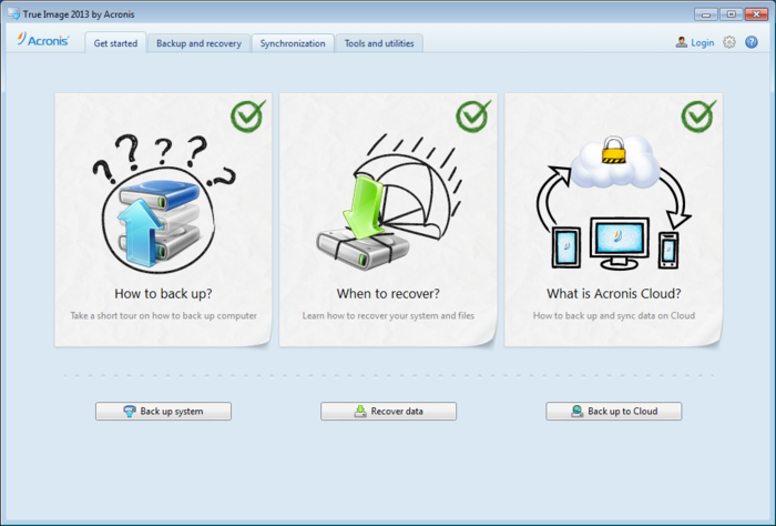 Screenshot 4 of Acronis True Image