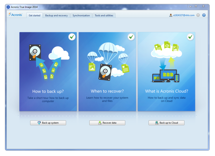 Screenshot 5 of Acronis True Image