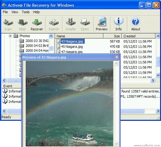Screenshot 1 of Active File Recovery
