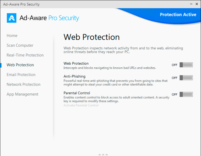 Screenshot 2 of Ad-Aware Pro Security