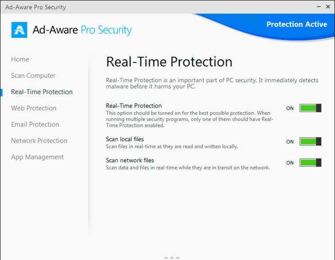 Screenshot 3 of Ad-Aware Pro Security
