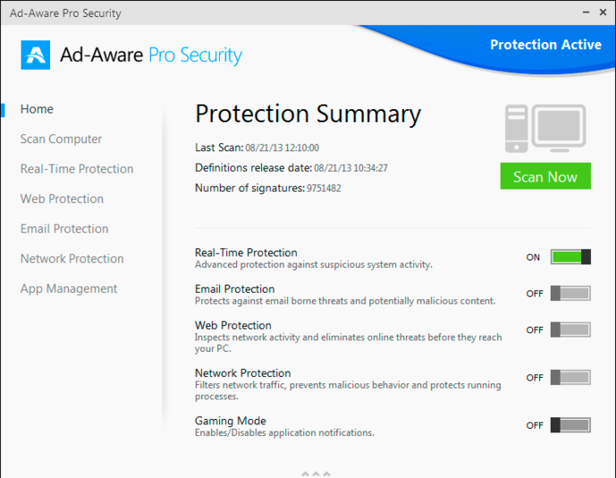 Screenshot 7 of Ad-Aware Pro Security