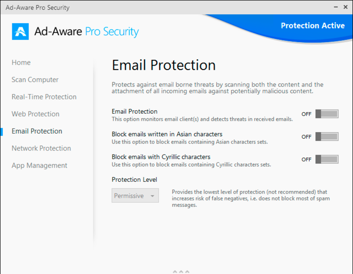 Screenshot 5 of Ad-Aware Pro Security