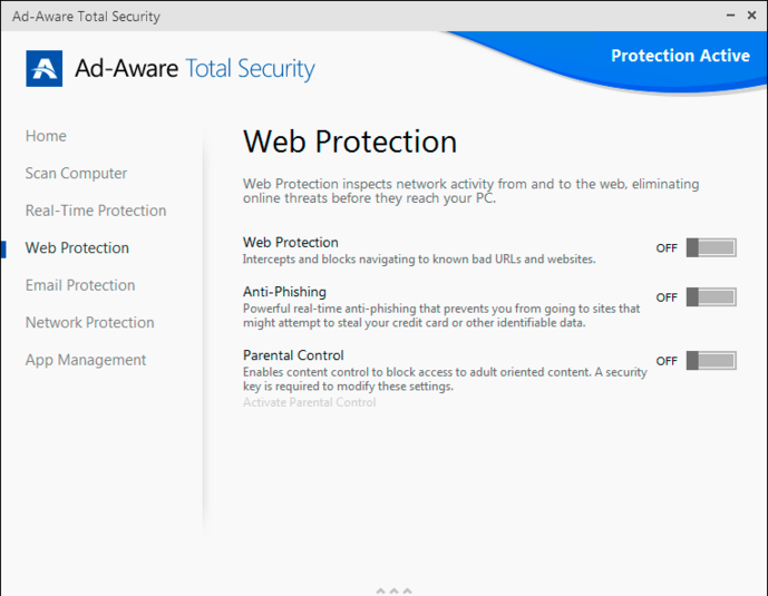 Screenshot 1 of Ad-Aware Total Security