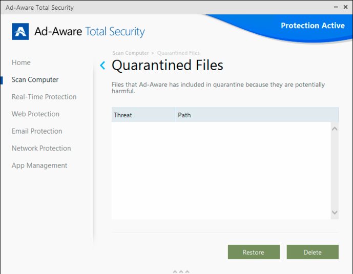Screenshot 3 of Ad-Aware Total Security