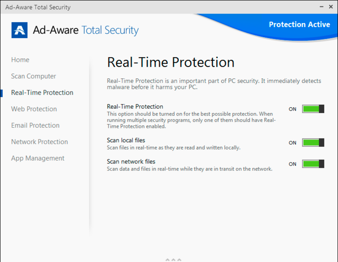Screenshot 2 of Ad-Aware Total Security