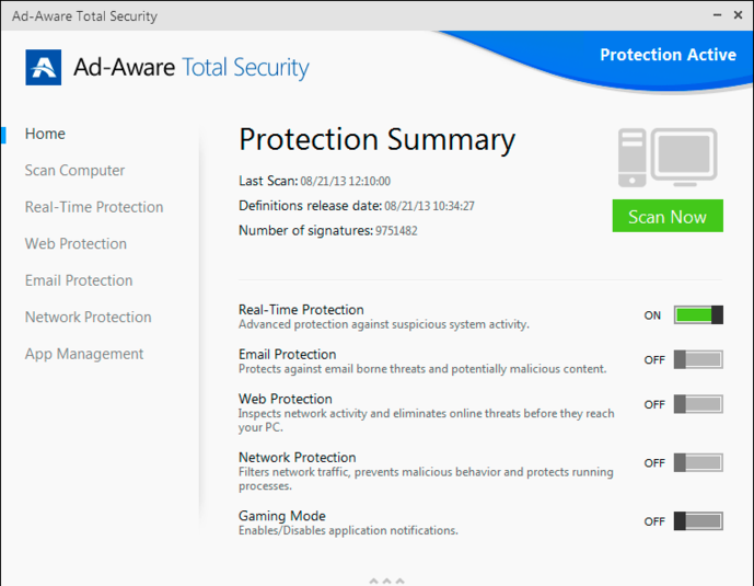 Screenshot 9 of Ad-Aware Total Security