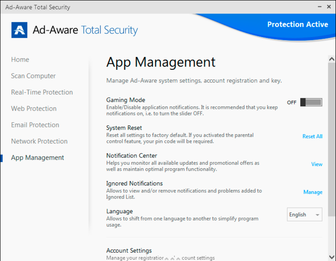Screenshot 8 of Ad-Aware Total Security