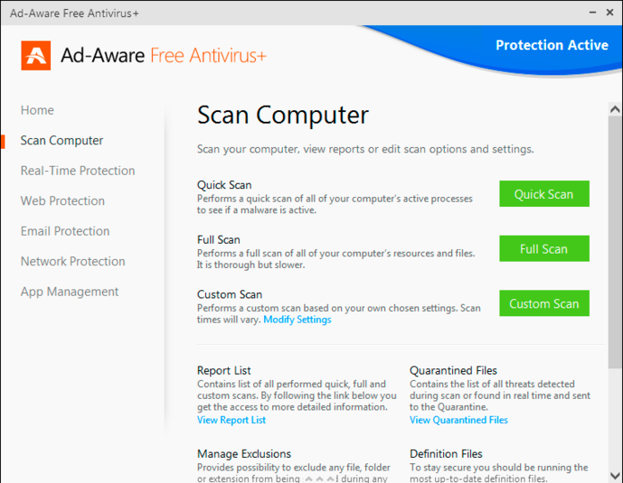 Screenshot 10 of Adaware Antivirus Free