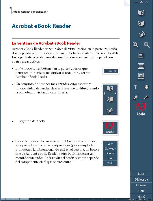 Screenshot 1 of Adobe Acrobat eBook Reader