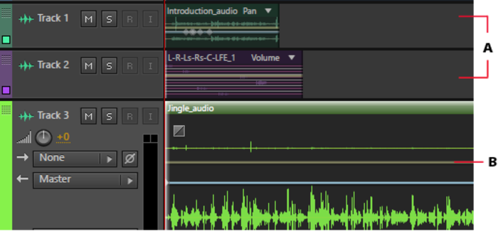 Screenshot 1 of Adobe Audition