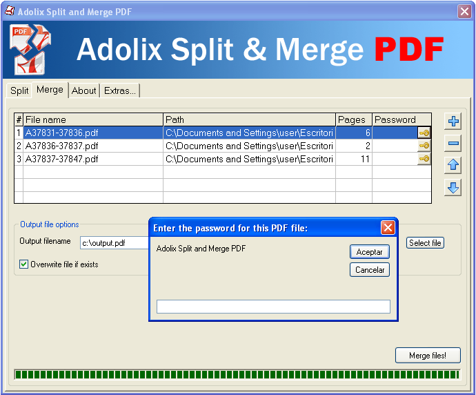 Pdf splitter and merger free free download and software reviews.