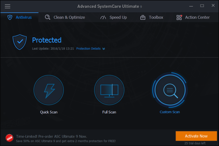 Screenshot 9 of Advanced SystemCare Ultimate