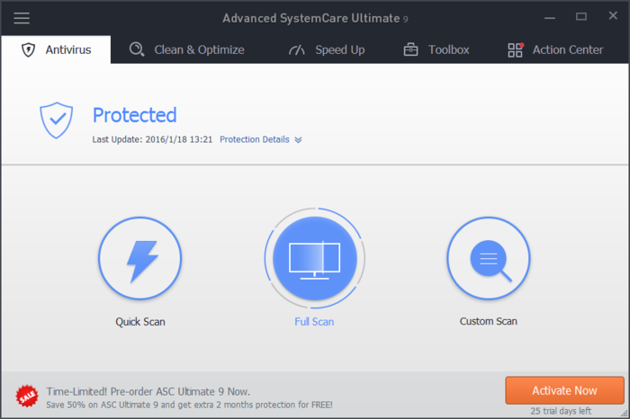 Screenshot 8 of Advanced SystemCare Ultimate