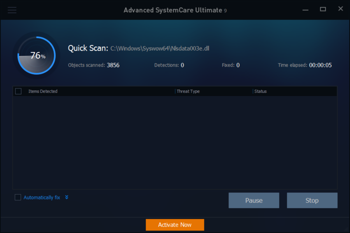 Screenshot 1 of Advanced SystemCare Ultimate