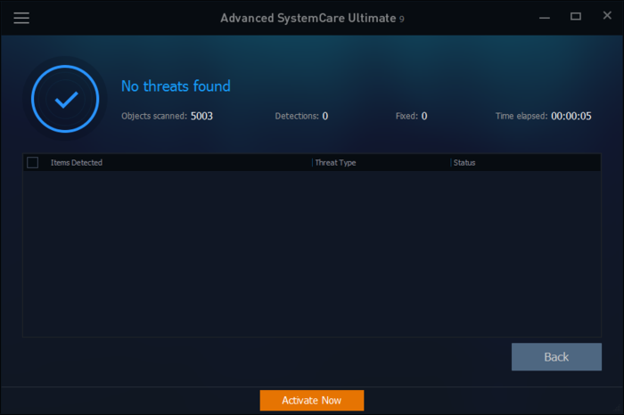 Screenshot 2 of Advanced SystemCare Ultimate