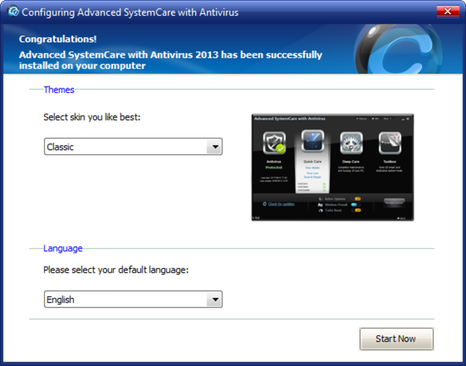 Screenshot 13 of Advanced SystemCare with Antivirus