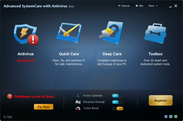 Screenshot 4 of Advanced SystemCare with Antivirus